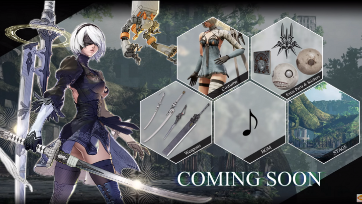 2B from Nier: Automata is coming to Soulcalibur 6