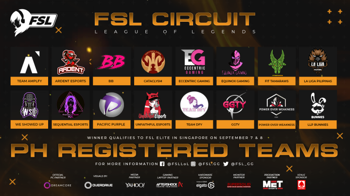 FSL LoL Philippines 2019
