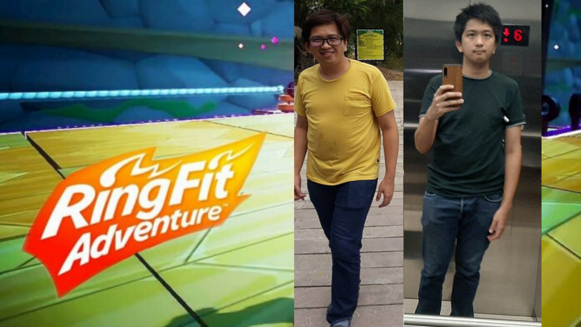 Filipino Loses A Lot Of Weight In 30 Days Just By Playing Ring Fit
