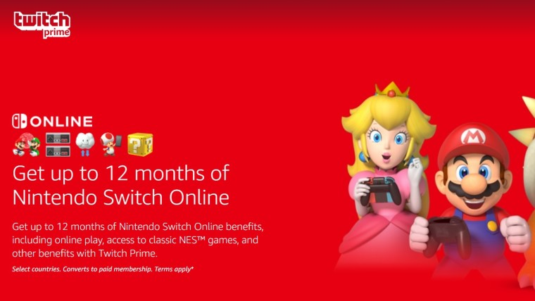 twitch prime nintendo switch online
